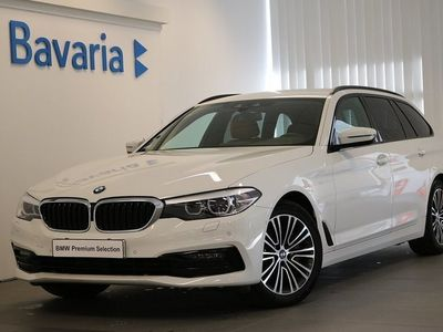 begagnad BMW 530 i xDrive Touring Sport line Drag Winter Connected