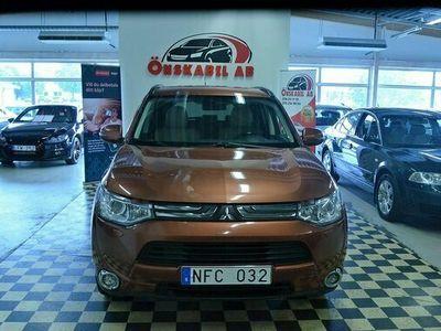 begagnad Mitsubishi Outlander 2.2 Di-D 4WD Automat 7-sits 2013, SUV Pris 104 900 kr
