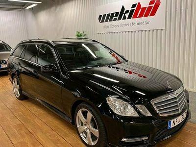 begagnad Mercedes E220 E Benz T CDI 7G-Troni Plus, luftfjädring 2013, Kombi 174 500 kr