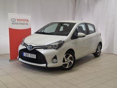 begagnad Toyota Yaris Hybrid 1.5 VVT-i CVT Euro 6 101h -14