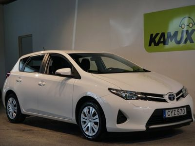 begagnad Toyota Auris 1.6 Moms SoV-hjul (132hk)