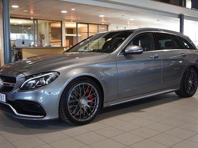 gebraucht Mercedes C63S AMG AMG510HK AMG PANORAMA 2,95% RÄNTA
