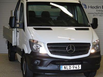 begagnad Mercedes Sprinter 213 CDI DRAGKROK FLAK -14