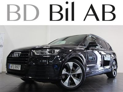 begagnad Audi Q7 3.0 TDI S-LINE D-VÄRM 7-SITS EU6 -16