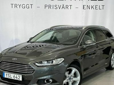 begagnad Ford Mondeo Business Kombi 2.0TDCi 180HK AUT AWD Värmare Navi V-Hjul