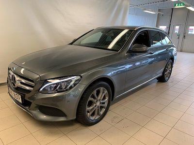 begagnad Mercedes 220 Benz C d 4MATIC Drag Värmare Vhjul 2017, Personbil 239 900 kr