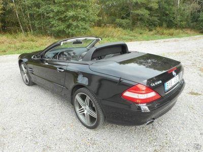 begagnad Mercedes SL500 7G-Tronic Låg Mil Byte -05