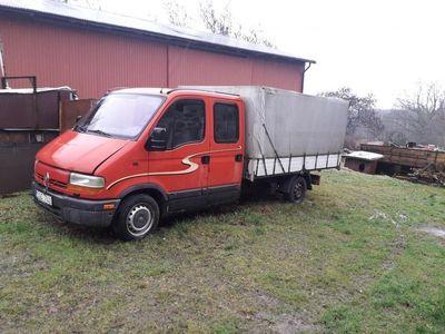begagnad Renault Master Chassi Dubbelhytt 2.8