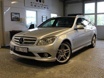 begagnad Mercedes C250 C-KlassCDI AMG Automat Drag Svensksåld 204hk