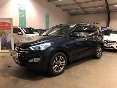 begagnad Hyundai Santa Fe 2.2 CRDi 4WD Premium, GPS, Aut.