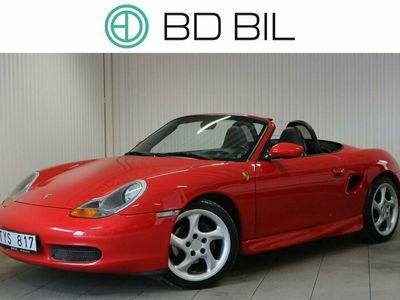 begagnad Porsche Boxster 2.7 SKINN CAB RÖD 2000, Cab Pris 164 900 kr