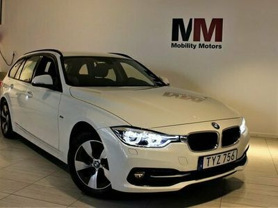 begagnad BMW 318 d Touring Sport line NAVI 2018, Kombi Pris 199 900 kr