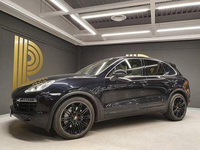 begagnad Porsche Cayenne S Diesel TipTronic S Sport Chrono Pano Navi