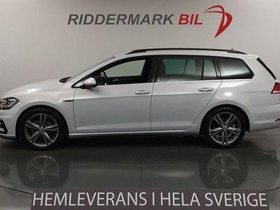 begagnad VW Golf VII 150hk R-line Premium BVärmare