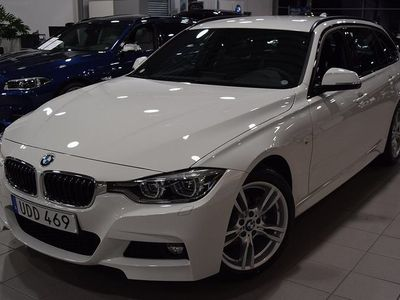 begagnad BMW 318 d Aut Touring M-Sport / Navi / Fabriksny