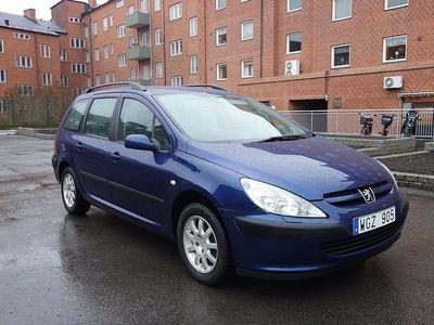 begagnad Peugeot 307 2.0 Kombi RÄNTA 2005, Halvkombi 16 900 kr