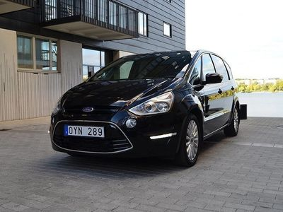 begagnad Ford S-MAX 2.2 7-SITS PANORAMA AUTO HELSKINN -12