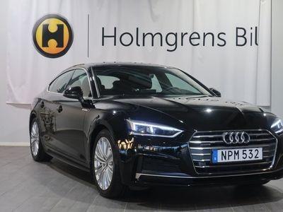 begagnad Audi A5 Sportback 2.0 TDI Q S-Line (190hk) Värmare / Nav / Drag
