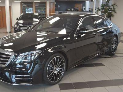 brugt Mercedes S400 400d sedan lång // DEMO
