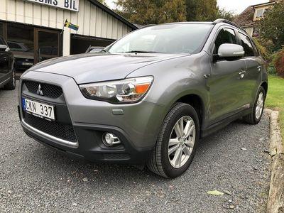gebraucht Mitsubishi ASX 1,8 D 4WD. 6vxl. Panoramatak Skinn.