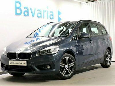 begagnad BMW 218 Gran Tourer d Sport line 7-Sits Backkamera Drag Aut