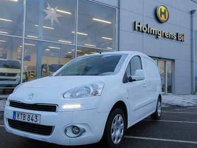 begagnad Peugeot Partner PRO+ 1.6 HDi 75hk *verkstadsinred*