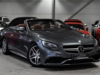 begagnad Mercedes S63 AMG AMG 4MATIC CABRIOLET 585HK