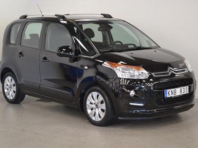 brugt Citroën C3 Picasso 1.6 HDI (90hk), Parksensorer bak, Elmotorvärmare