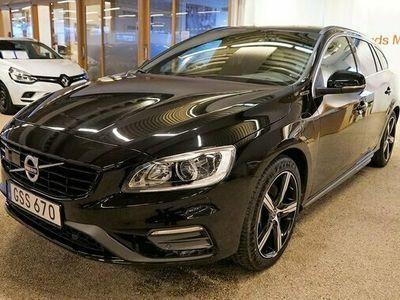 begagnad Volvo V60 D5 AWD Twin Engine Classic R-Design 2018, Kombi Pris 290 000 kr