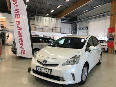 begagnad Toyota Prius+ Hybrid 1.8 VVT-i AUT 7-sits 136hk (1,79%RÄNTA)
