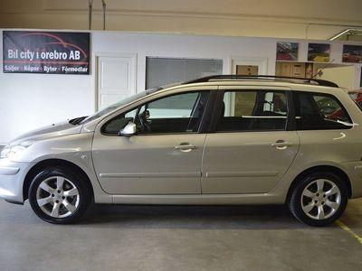 begagnad Peugeot 307 2.0 M-värmare & Ny Besiktad M.M 2006, Halvkombi 22 900 kr