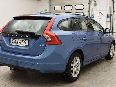 begagnad Volvo V60 D2 115hk D-VÄRME 5306MIL