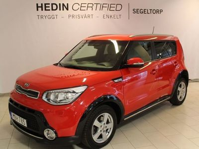 begagnad Kia Soul 1,6 CRDi 136hk Komfort S+V-hjul