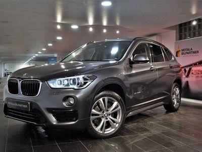 begagnad BMW X1 xDrive20d | Sport Line | HuD | Navi | Läder | H&K