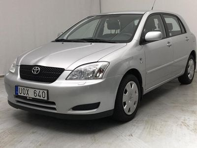 begagnad Toyota Corolla 1.6 5dr