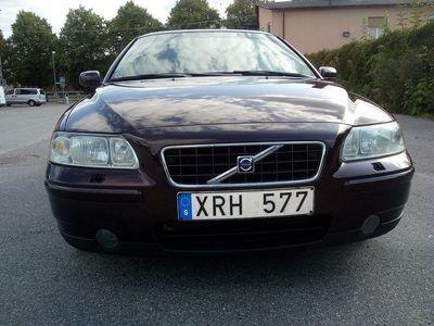 begagnad Volvo S60 2.5T Automat Kinetic 210hk -06