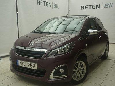 begagnad Peugeot 108 Top 5-dörrar 1.0 VTi 68hk Cab