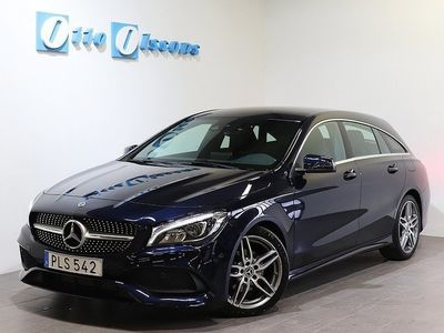 begagnad Mercedes CLA200 Shooting Brake AMG, Nav, Läder