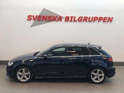 begagnad Audi A3 Sportback 1.4 TFSI Aut S-Line Led Lm S+V-hjul