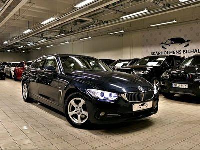 begagnad BMW 420 Gran Coupé i xDrive 184HK LUXURY LINE SKiNN NAVI