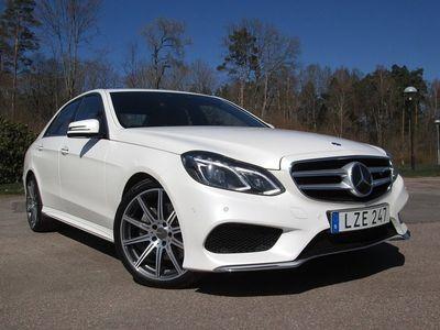 brugt Mercedes 350 E-KLASSBlueTEC 9G-Tronic AMG Sport Nav. Eu 6 258hk