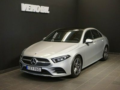 begagnad Mercedes A180 Sedan AMG Backkamera Aut Nav Apple Carplay
