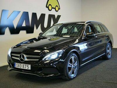 begagnad Mercedes C350e | Skinn | Pano | burmester | 279hk
