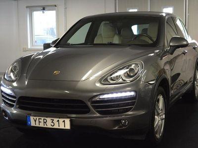 begagnad Porsche Cayenne Diesel TipTronic S Sportstola