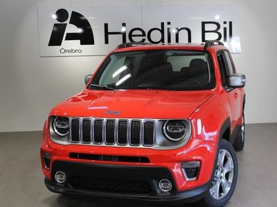 begagnad Jeep Renegade LIMITED 1.3 T4 PHEV 190HK Laddh