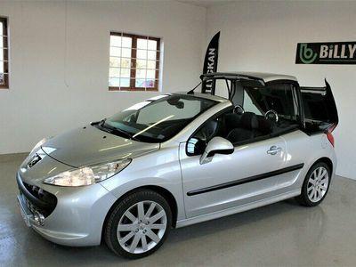 begagnad Peugeot 207 CC 1.6 VTi Nybesiktad 120hk