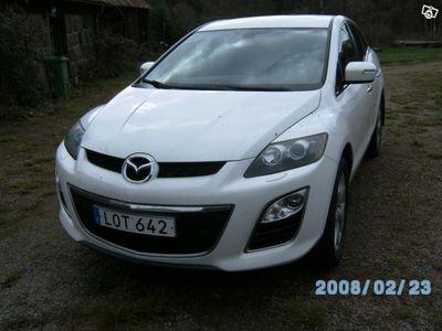 begagnad Mazda CX-7 2.2 D vit motorvärmare 85000 -11
