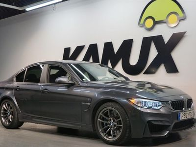 begagnad BMW M3 DCT Sv-såld 1436 mil Navi 431hk