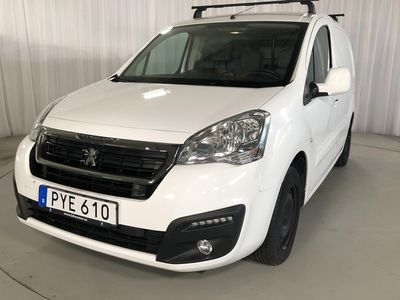 used Peugeot Partner 1.6 BlueHDI Skåp (100hk)