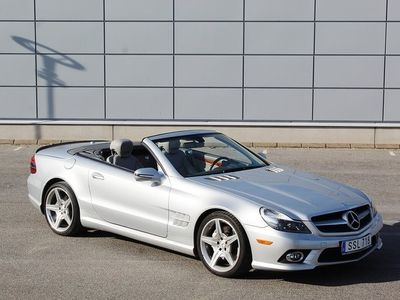 usata Mercedes 500 SL-KlassAMG CABRIOLET + PANORAMA 400HK 7G-Tronic